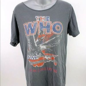The Who Junk Food tee t shirt S